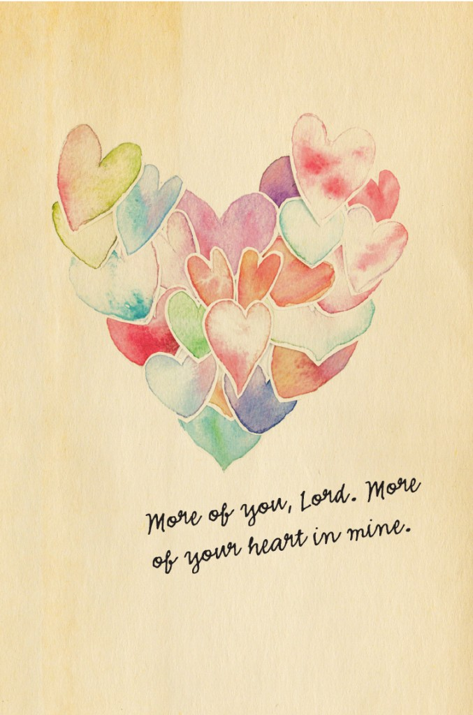 More of you, Lord. More of your heart in mine. #YourBeautifulHeart Lauren Scruggs