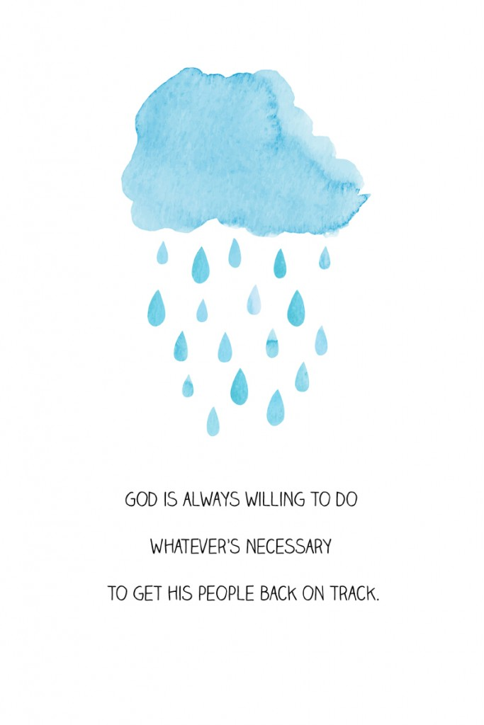 God is always willing to do whatever's necessary to get his people back on track. #YourBeautifulHeart Lauren Scruggs