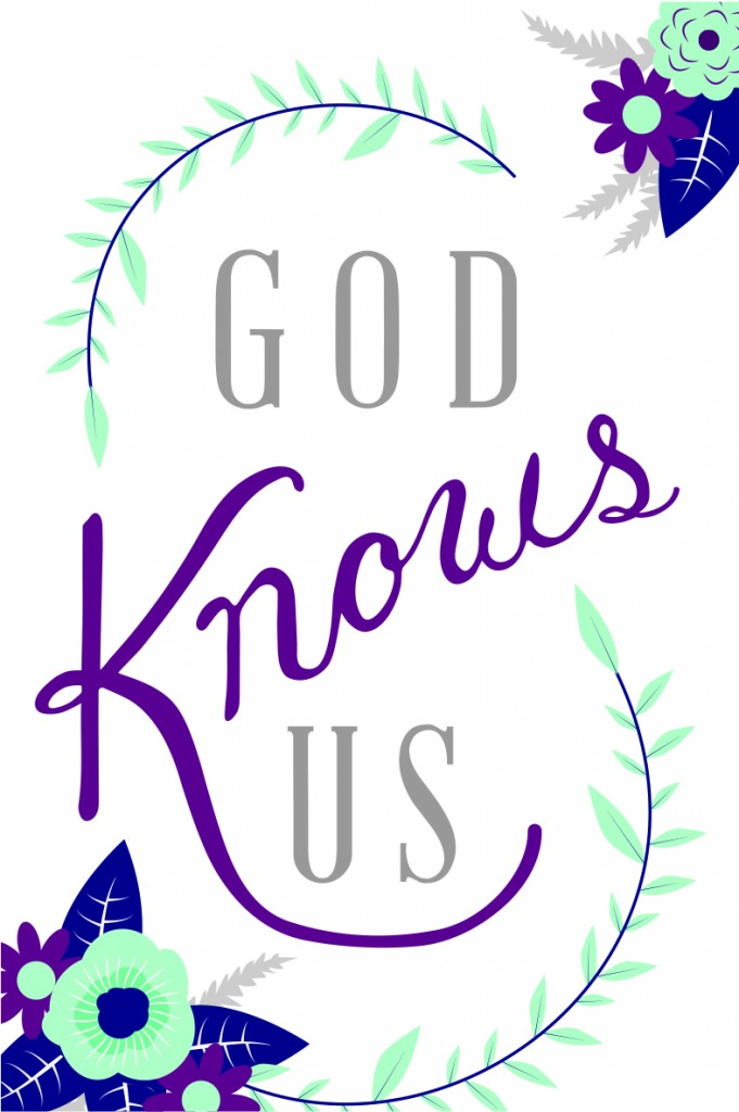 God Knows Us | Your Beautiful Heart by Lauren Scruggs